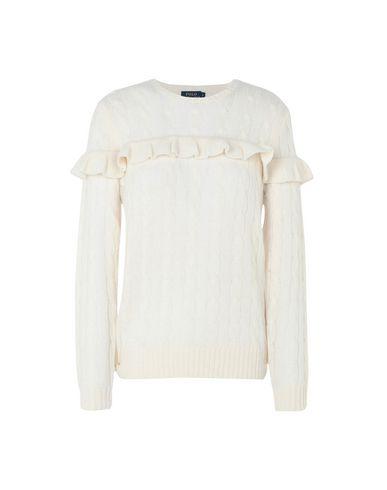 Pullover Polo Ralph Lauren Ruffled Wool-Blend Sweater - Femme ... 11eb03b11bb