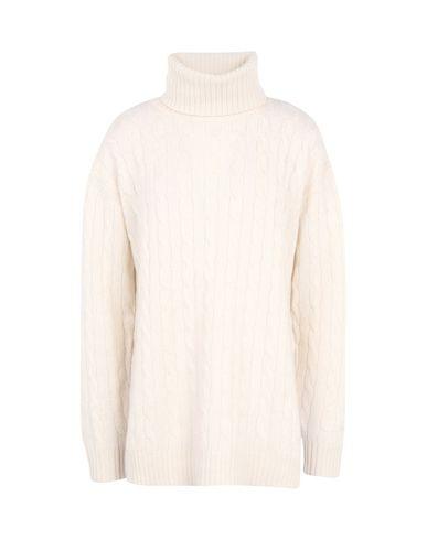 4f2d46f2d Polo Ralph Lauren Slit Cable Turtleneck Sweater - Turtleneck - Women ...