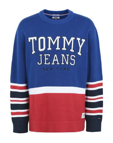 e2a55f24ac86 Tommy Jeans Jumper - Men Tommy Jeans Jumpers online on YOOX United ...