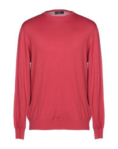 FEDELI Sweater in Brick Red