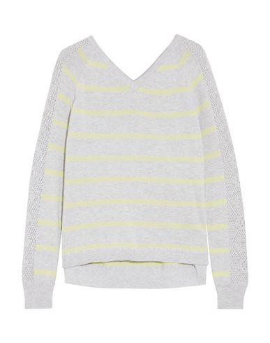 COTTON BY AUTUMN CASHMERE Sweater in Light Grey
