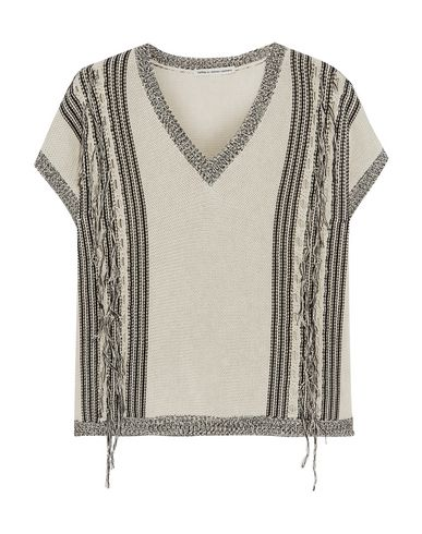COTTON BY AUTUMN CASHMERE Sweater in Beige