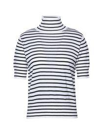 4ffd2f9ad Jersey de cuello alto mujer  jersey de cuello alto de lana y algodón ...