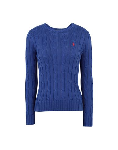 f2e316193dde Polo Ralph Lauren Cable Knit Cotton Sweater - Jumper - Women Polo ...