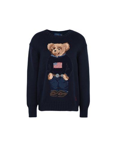 8bc149fc9f40 Polo Ralph Lauren Polo Bear Cotton Sweater - Sweater - Women Polo ...
