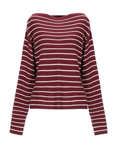 The Gigi Sweater In Maroon