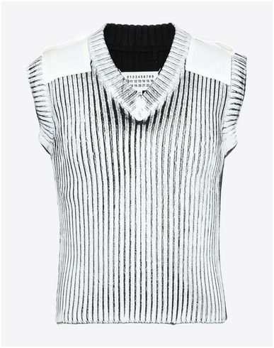 MAISON MARGIELA - Sleeveless sweater