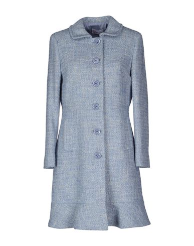 Modesens Coats In Valentino Sky Blue Red wXFagqx0AX