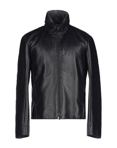 ac92156c9 ARMANI COLLEZIONI Leather jacket - Coats and Jackets | YOOX.COM