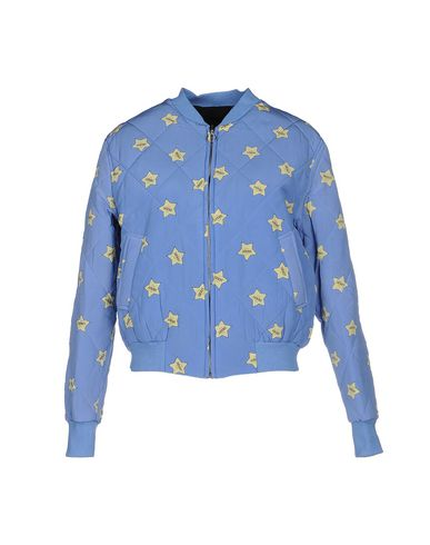 AMERICAN RETRO Jacket in Sky Blue