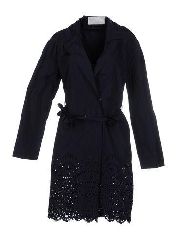 SCERVINO STREET Full-Length Jacket in Dark Blue