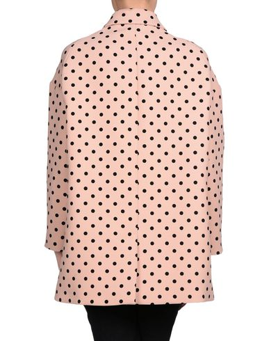 RED VALENTINO FULL-LENGTH JACKET, PASTEL PINK