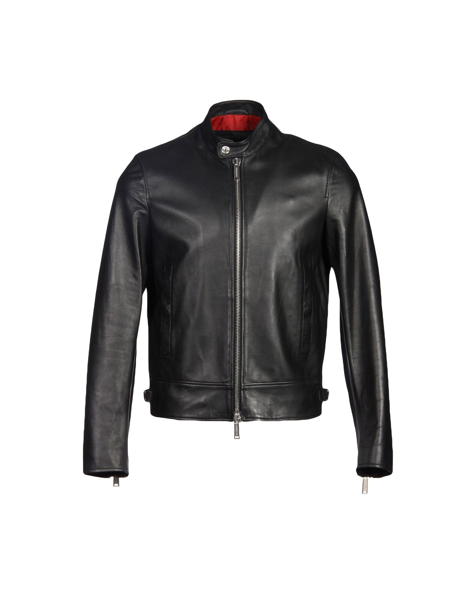 8e484ac6e0e Dsquared2 Biker Jacket - Men Dsquared2 Biker Jackets online on YOOX ...