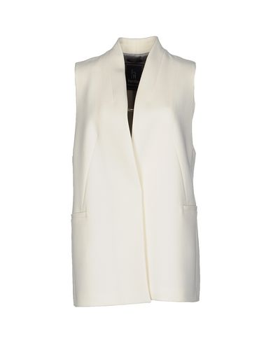 HANITA Full-Length Jacket in Ivory