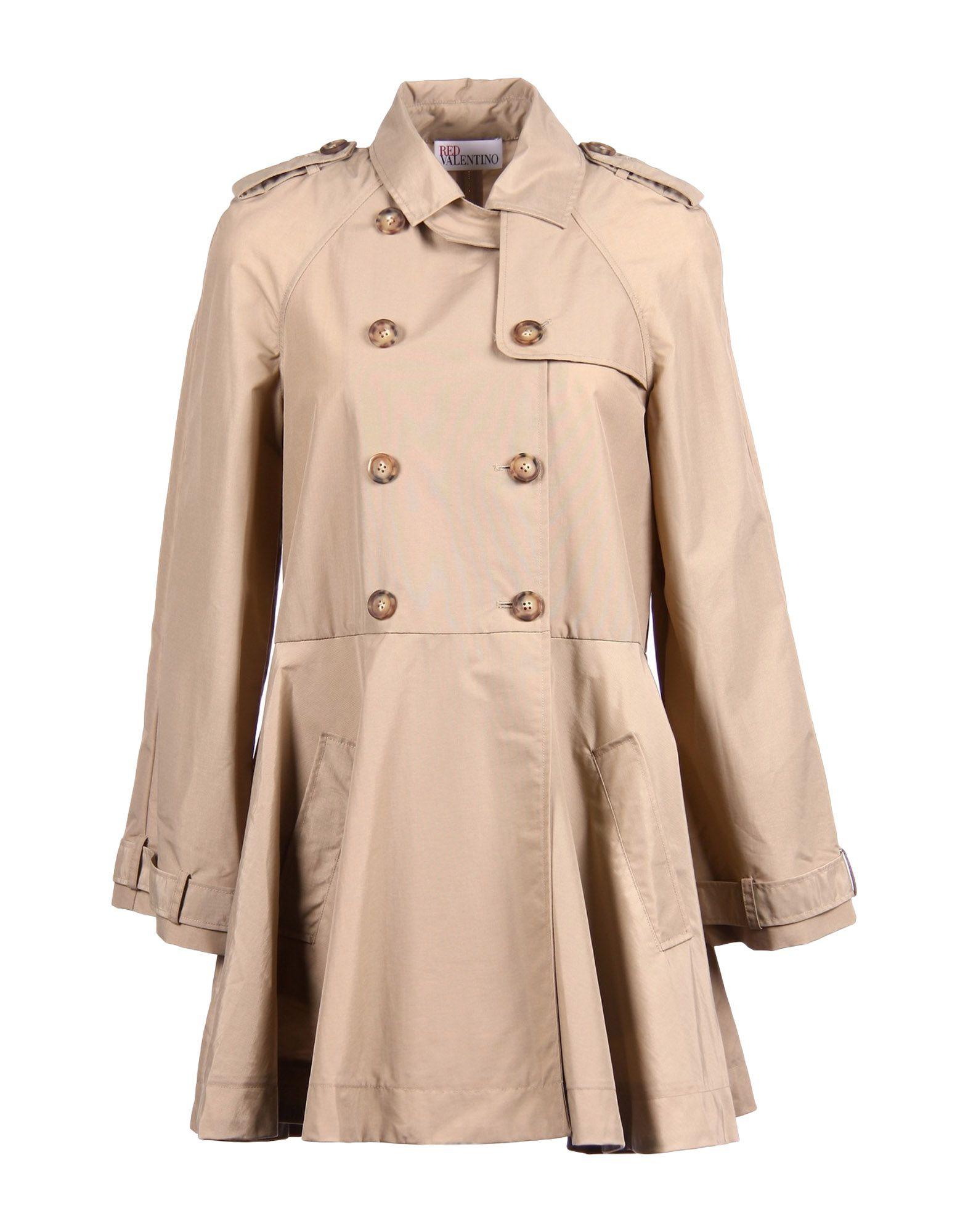 8c4ef4fb985 Redvalentino Double Breasted Pea Coat - Women Redvalentino Double ...