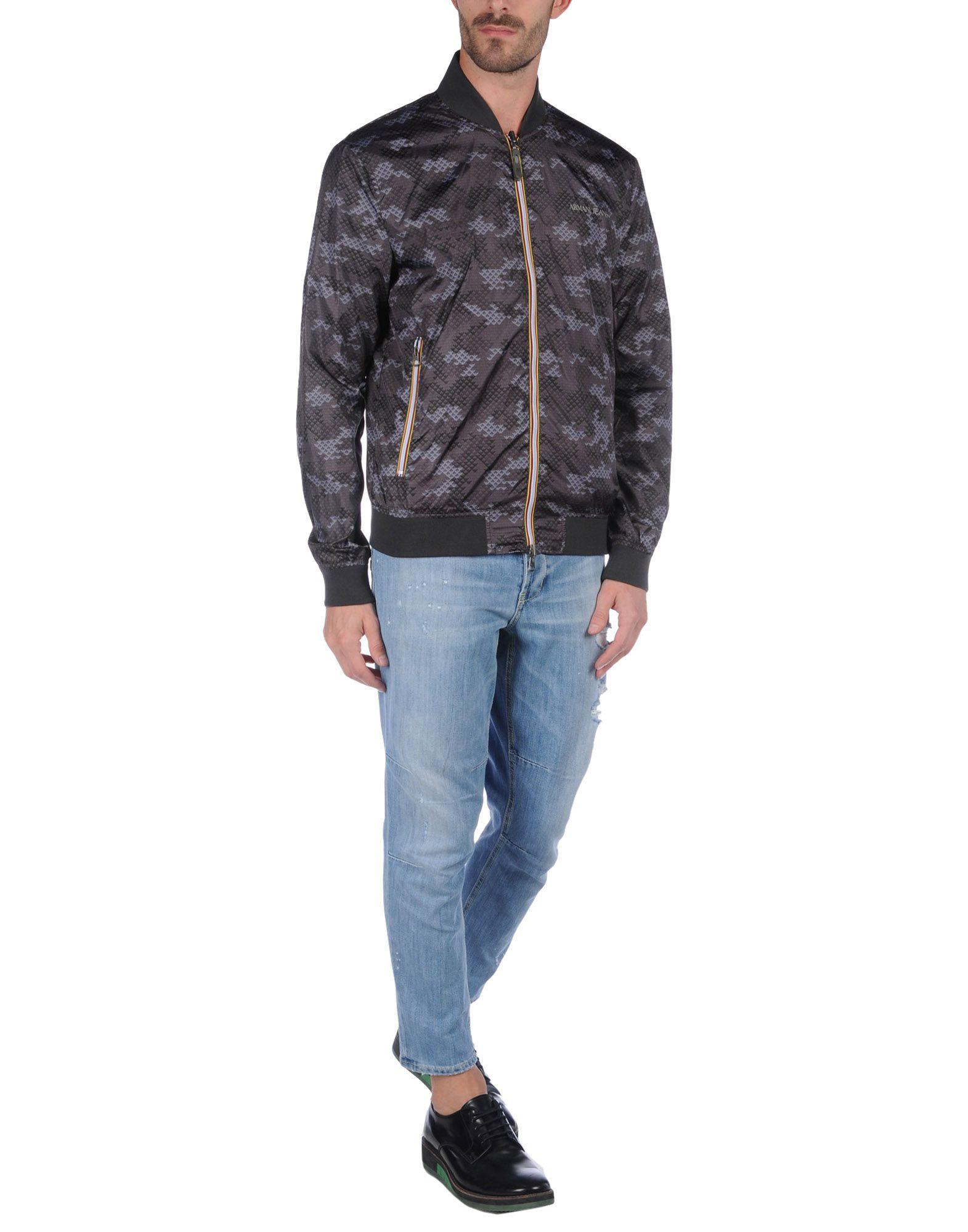 Giubbotto Jeans Armani Jeans Giubbotto Uomo - 41669238FK 983b59