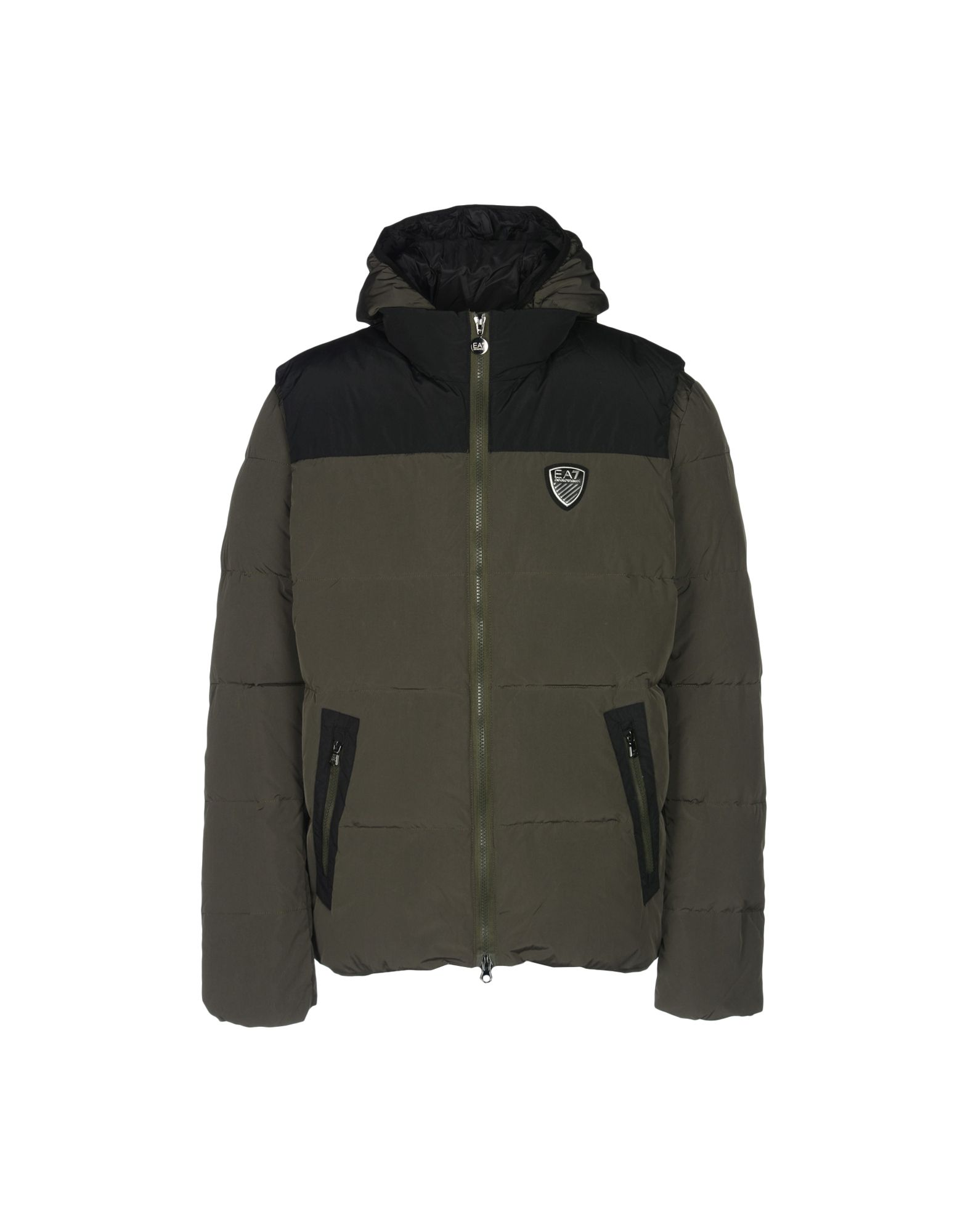 Piumino Ea7 Puffy Jacket Bicolor-Bimaterial - Uomo - Acquista online su