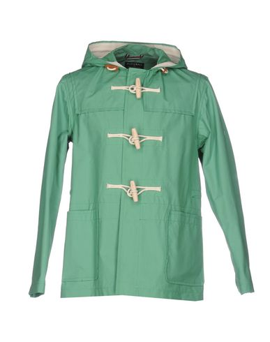 GLOVERALL Duffle Coat in Light Green