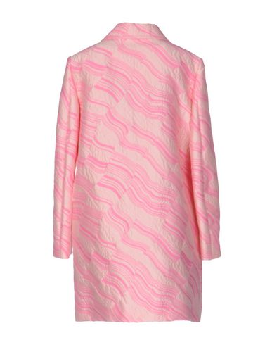 BOUTIQUE MOSCHINO FULL-LENGTH JACKET, PINK