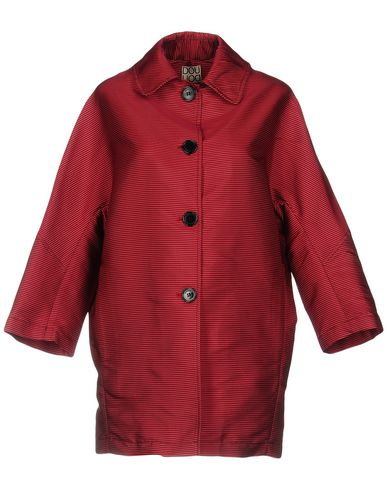 DOUUOD Full-Length Jacket in Red