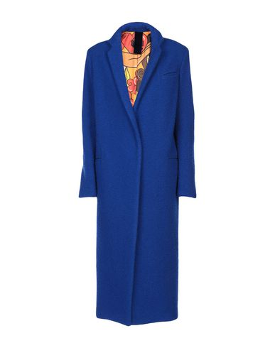 FEMME BY MICHELE ROSSI Coat in Blue