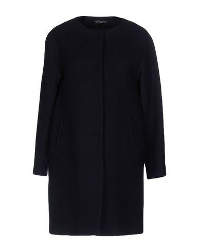 LAURA URBINATI Coat in Dark Blue