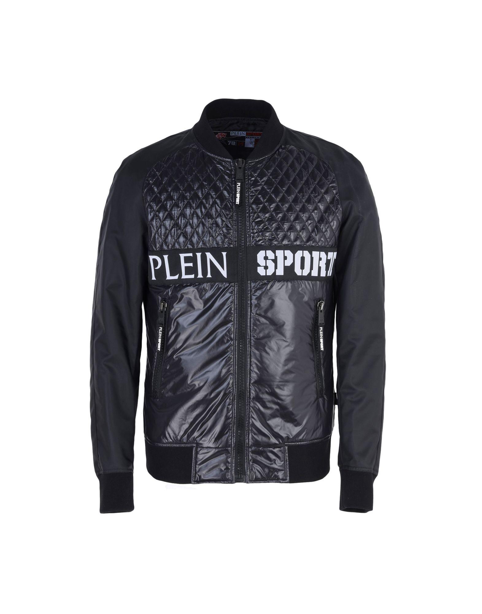 2df873bb5e Plein Sport Nylon Jacket Robert - Bomber - Men Plein Sport Bombers online  on YOOX Australia - 41702970XW