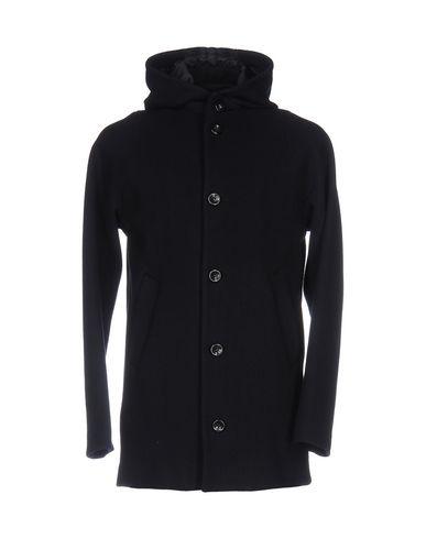 BRIAN DALES Coat in Dark Blue