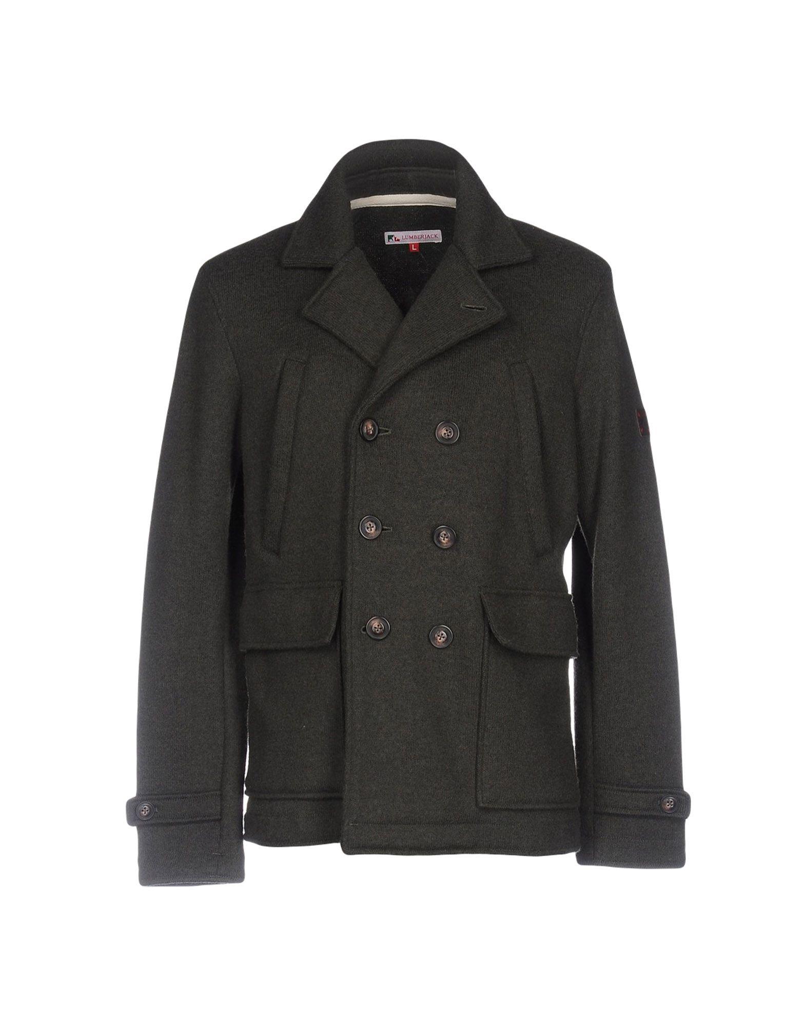 Fleecy Jacket Mens 20 80 Wool Synthetic Fleece Lumberjack Lined On Front