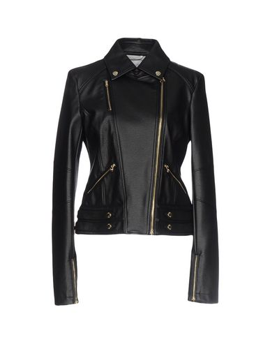 huge discount 028fb b4708 PATRIZIA PEPE Biker jacket - Coats & Jackets | YOOX.COM