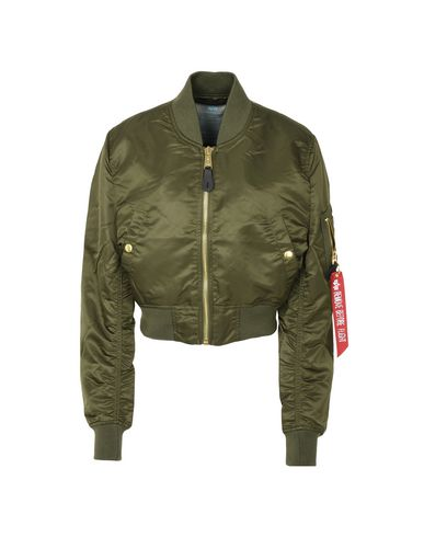 e79c025930149 Cazadora Bomber Alpha Industries Inc. Ma-1 Pm Cropped Wmn - Mujer ...