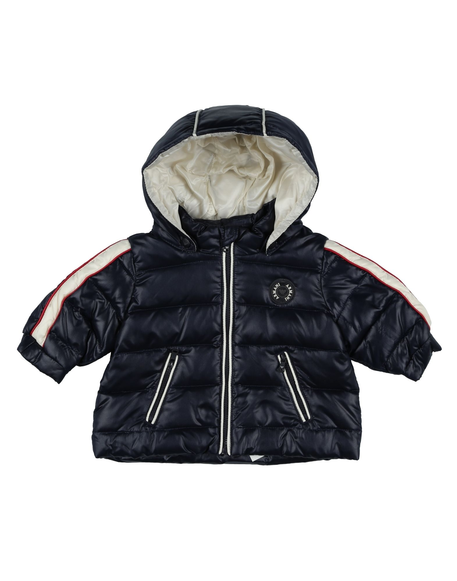 cef84031a1 Armani Junior Down Jackets for baby boy & toddler 0-24 months ...