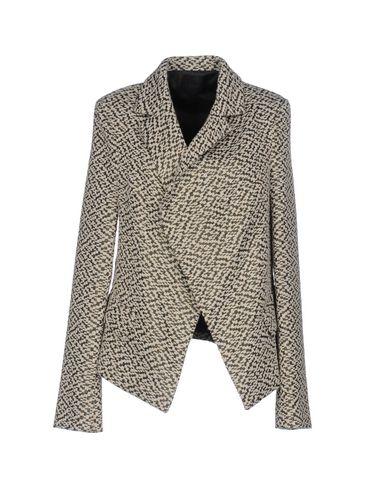 EGGS Full-Length Jacket in Ivory