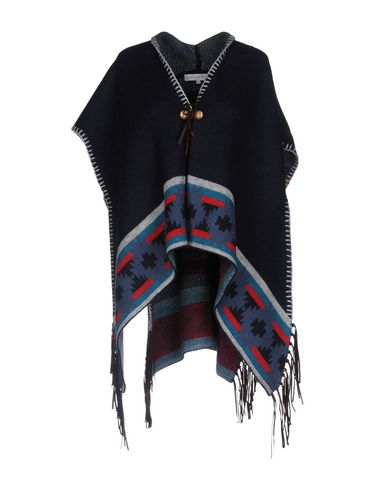 CHRISTOPHE SAUVAT COLLECTION Cape in Dark Blue