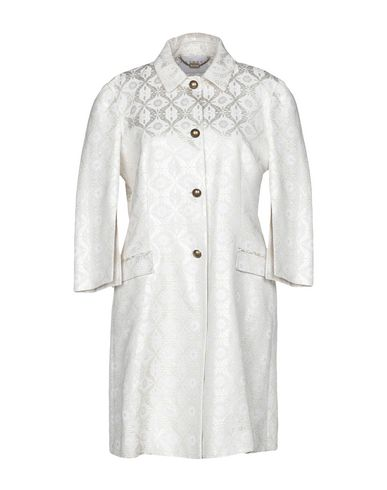 RICHMOND X Full-Length Jacket in Ivory
