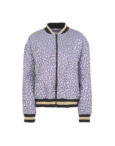 EMBROIDERY LEOPARD BOMBER FUXIA Куртка-бомбер