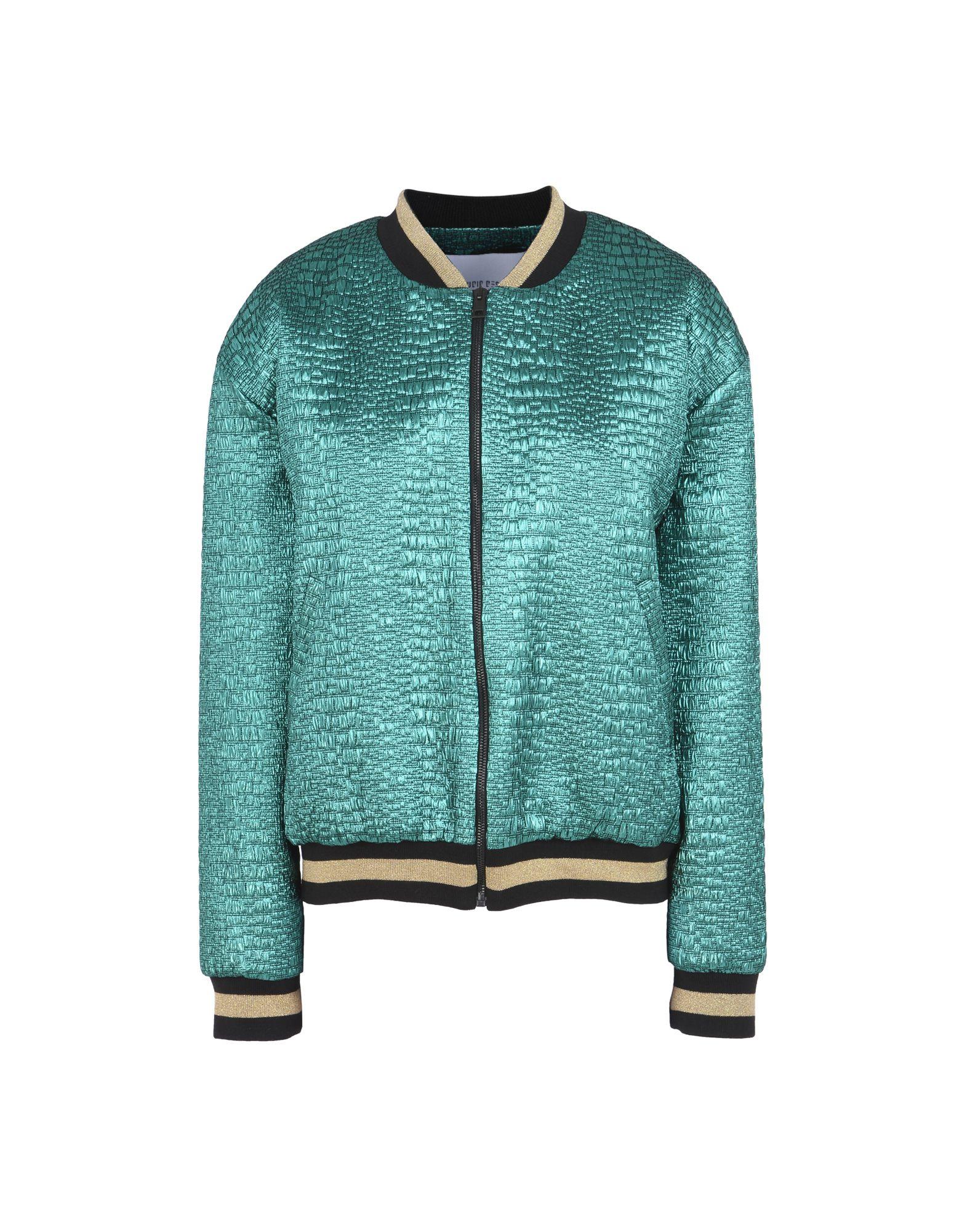 Bomber Leo Studio Design Embroidery Plissed Bomber Green - Donna - Acquista online su 0SASTeDq