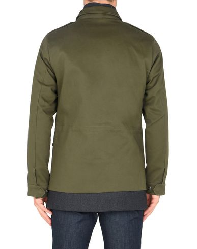 SCOTCH & SODA Field jacket with fake inner in wool blend quality Cazadora