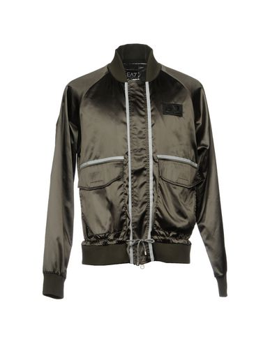 EA7 Bomber in Dark Green