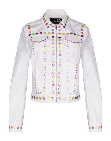be308dda85801 Love Moschino Jacket - Women Love Moschino Jackets online on YOOX ...