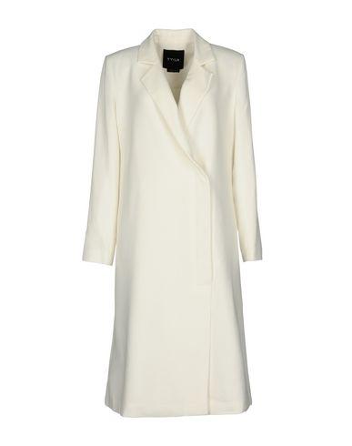 TY-LR Full-Length Jacket in Ivory