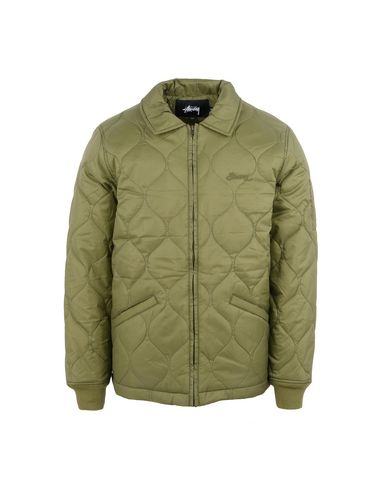 11db98a8 Stussy Quilted Work Jacket - Jacket - Men Stussy Jackets online on ...