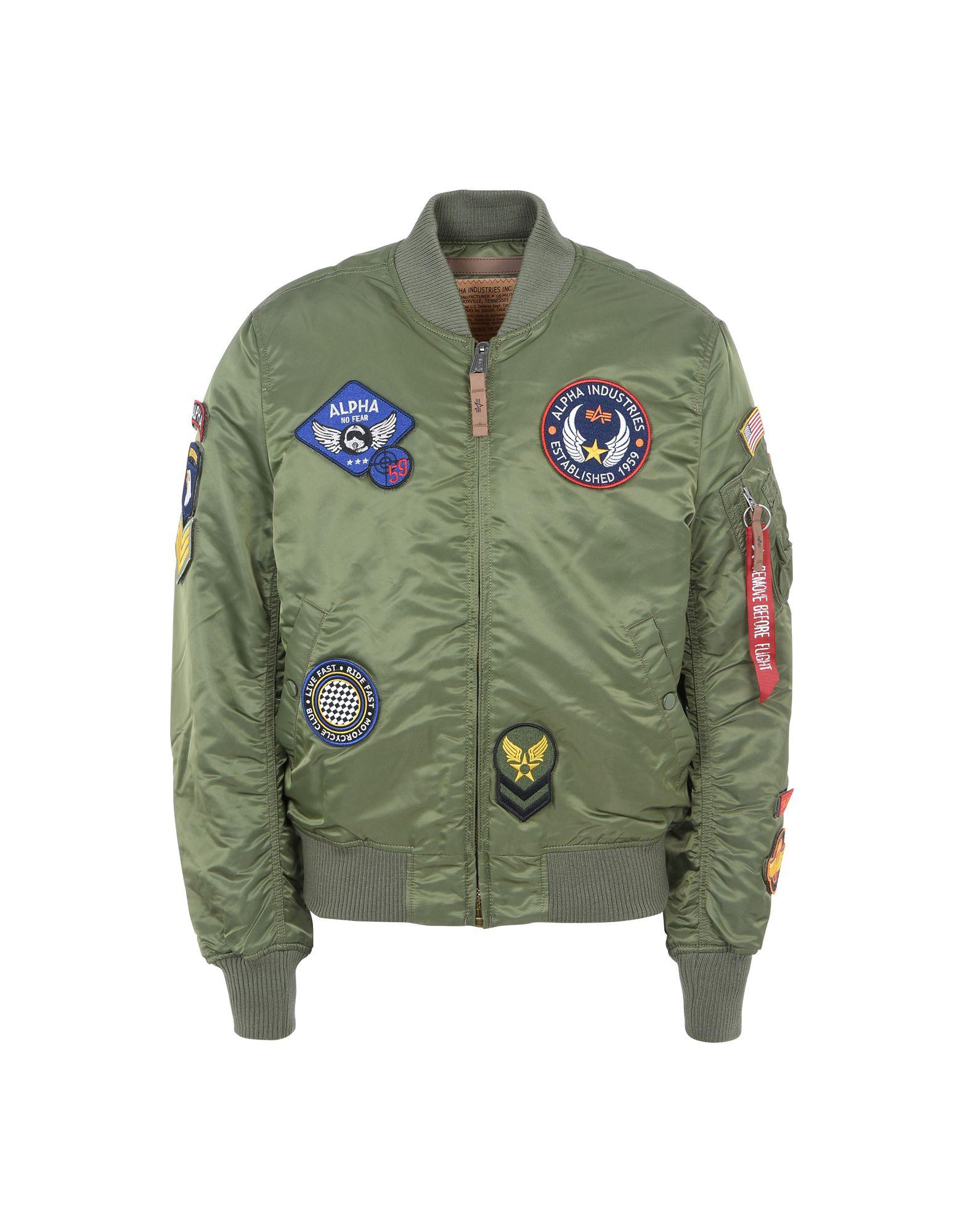 Bomber Alpha Industries Inc. Ma-1 Vf Diy Jacket - Uomo - Acquista online su