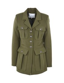 et longs élégants manteaux ligne Manteaux femme courts en YOOX n4xCqnYS