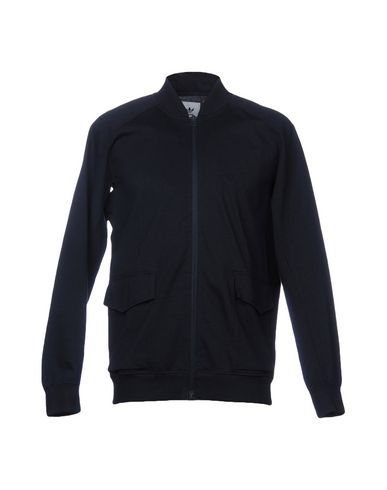 ADIDAS BY WINGS + HORNS Sweatshirts in Dark Blue