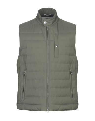 Brunello Cucinelli Down Jackets In Military Green