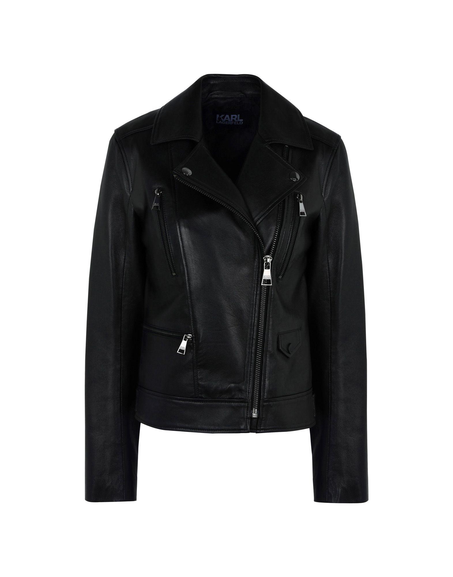 Biker Karl Lagerfeld Ikonik Odina Biker Jacket - Donna - Acquista online su mGaZXQ