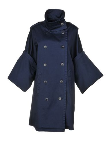 LIVIANA CONTI Full-Length Jacket in Dark Blue
