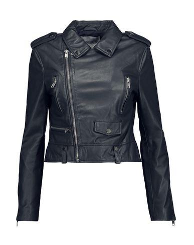 top-rated exquisite craftsmanship fresh styles WALTER BAKER Biker jacket - Coats and Jackets   YOOX.COM