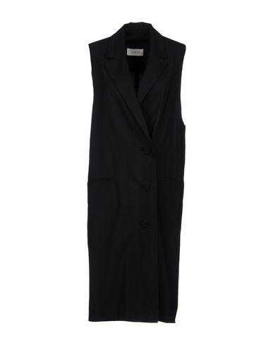 YUNE HO Overcoats in Black